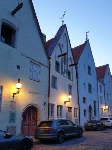 Life in Tallinn - Old Town buildings