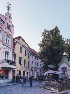 Life in Tallinn - Old Town streets