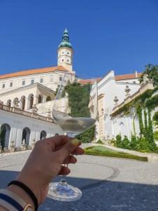 Mikulov wine sightseeing glass castle