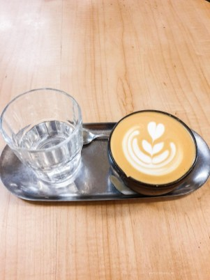 Mision - best coffee in Madrid list - flat white