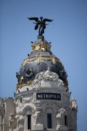 Pretty Madrid - Metropolis building