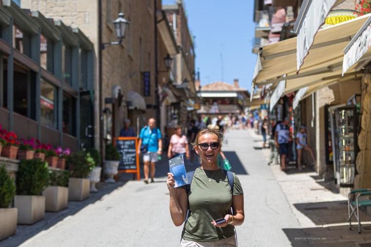 San Marino shopping street