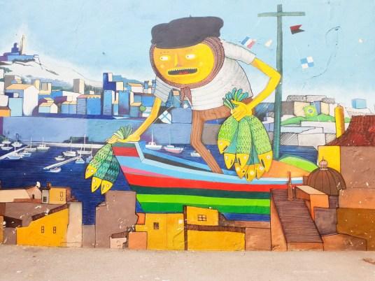 Street Art in Marseille city