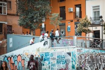 life in Madrid - our apartment Lavapies