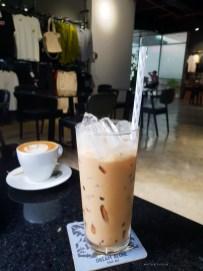 modern hustle HCMC ice vietnamese coffee