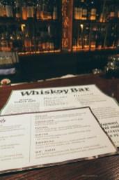 whiskey bar brno menu