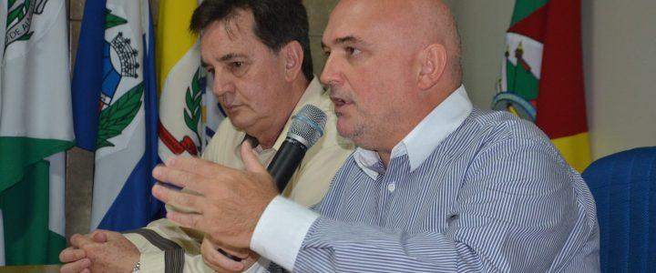 Prefeitos reunidos em prol da saúde no Alto Uruguai