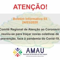 Boletim Informativo 03 – 24/03/2020