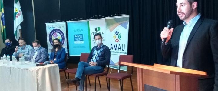 Vice-presidente da AMAU participa de assembleia de fundação da Cooperativa Regional de Turismo