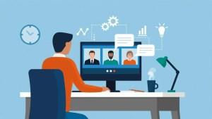 corporate virtual meeting - الاجتماعات الالكترونية للشركات