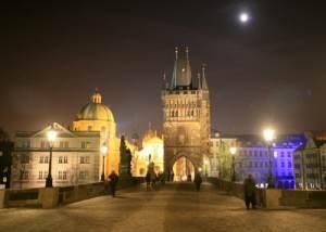 Praha v noci, Jan Rybář