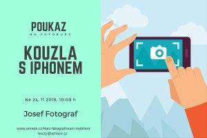 Dárkový poukaz kurz fotografování iPhonem