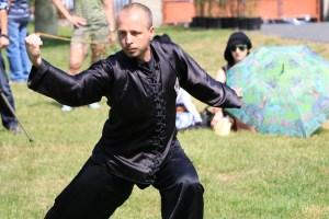 Ukázka kung fu - David Šejna