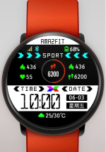 X Element 1.0 Watch Face with Settings