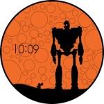 Iron Giant Watchface from Moto 360 [Chinese]