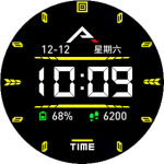Pure Black – Watchface with options