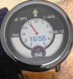 Dual Timex2 Face – Amazfit Pace watch face