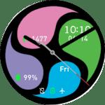 Amazfit Pace Watchface –4 Colors Wheel 2 S