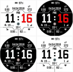New Pace watchfaces from Luis Baena