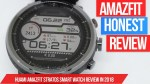Amazfit Stratos Honest Review – Great Smart Watch on a Budget in 2018 from Xiaomi!