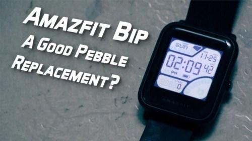 Amazfit Bip - A good Pebble Replacement?