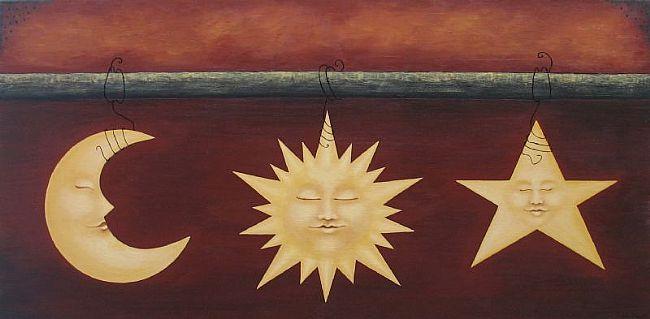 bulan bintang matahari