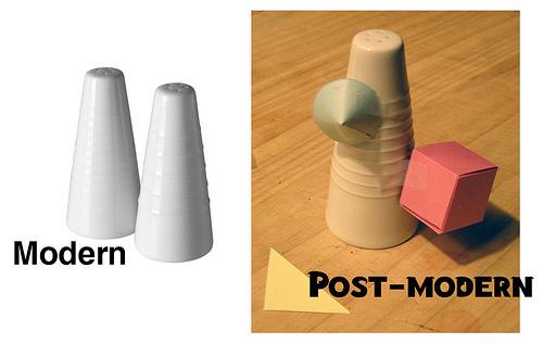 postmodernisme modernisme
