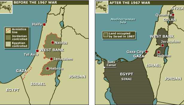 Perang Enam Hari-Israel