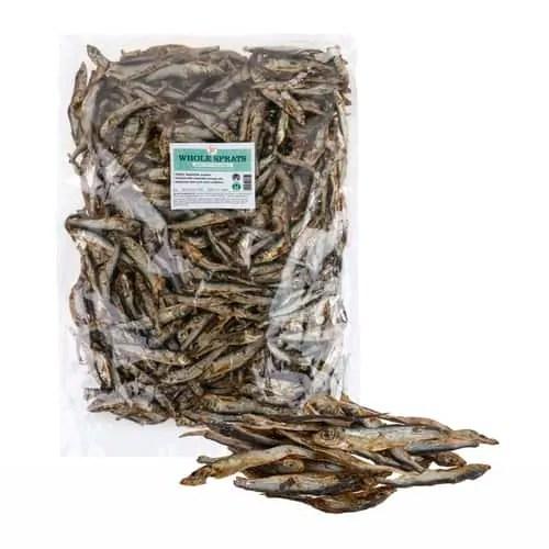 Dried Whole Baltic Sprats 1KG