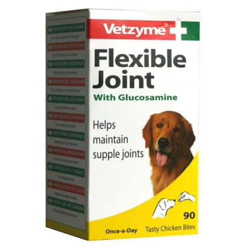 Vetzyme Flexible Joint Tablets With Glucosamine