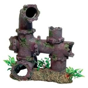 sunken pipework & Plant