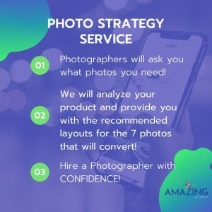 photography layout strategy consultation service from Amazing at Home