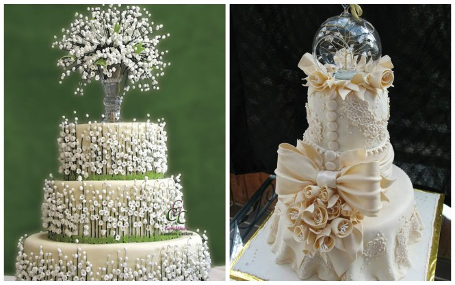 45 Cly And Elegant Wedding Cakes Graceful Inspiration Tier By