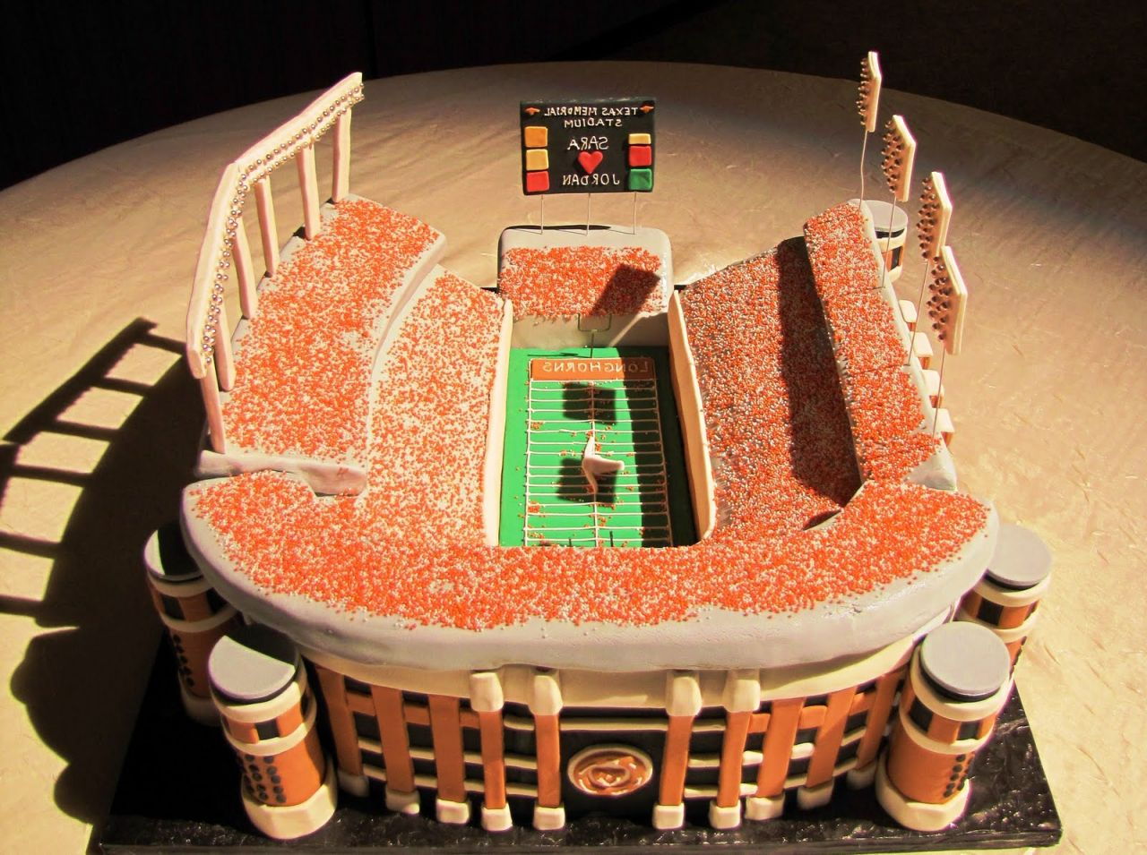 Grooms Cake Sports Arena