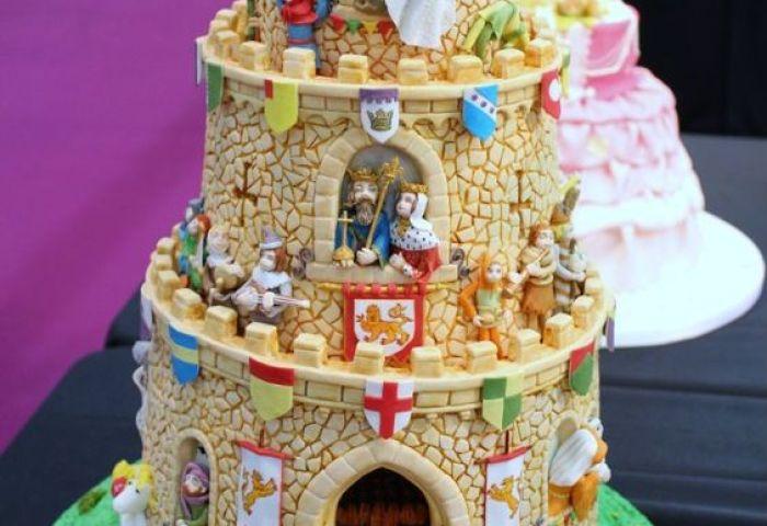 Lovely Castle Cake Amazing Cake Ideas