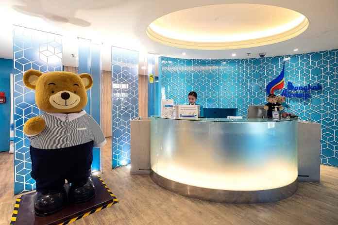 Bangkok Airways Lounge สุวรรณภูมิ