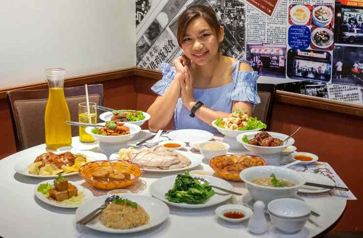 All you can eat Boon Tong Kee