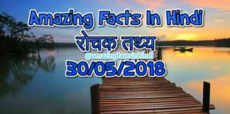 Amazing Facts In Hindi