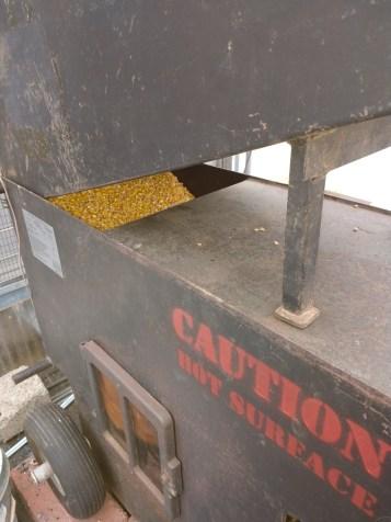 The corn stove