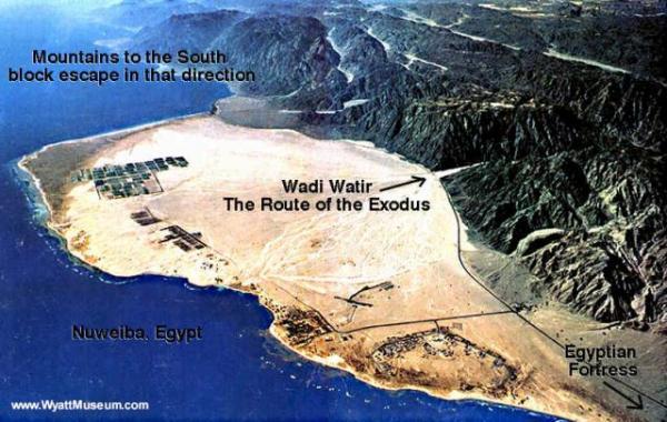 Exodus - Red Sea crossing