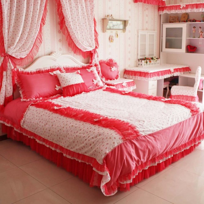Bedroom Bed Sets And Curtains - Bedroom Style Ideas