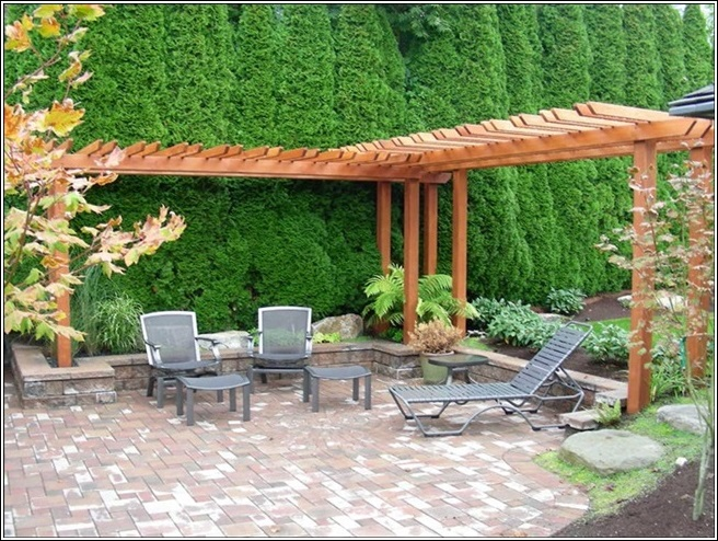 Enhance The Beauty of Your Garden or Patio With a Pergola! on L Shaped Backyard Layout id=22098