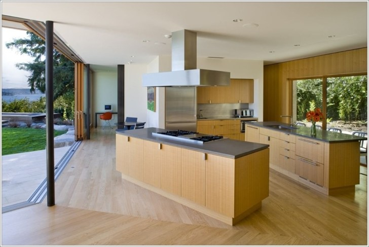 Double Island Kitchens More Space Fun
