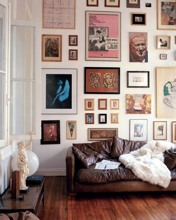Let it be Art- Cool Wall Displays Above the Sofa on Picture Room Decor  id=44185