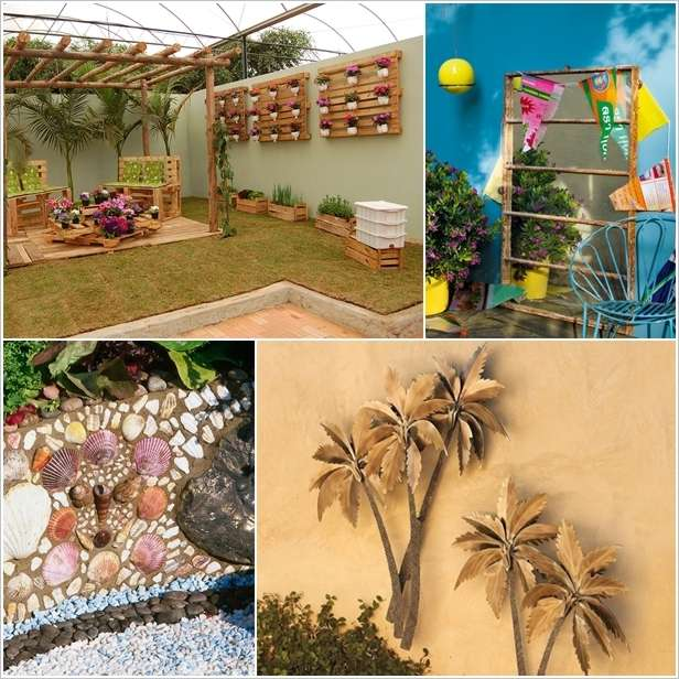 5 Spectacular Outdoor Wall Decor Ideas that You'll Love on Backyard Wall Decor Ideas  id=18632