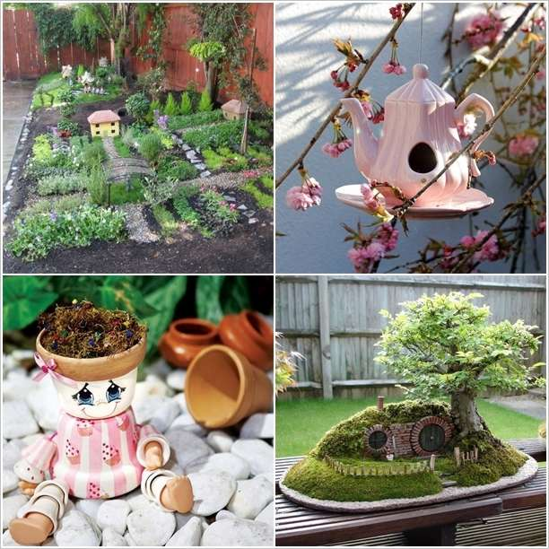 5 Absolutely Cute and Adorable Garden Decor Ideas on Cute Small Backyard Ideas id=13514