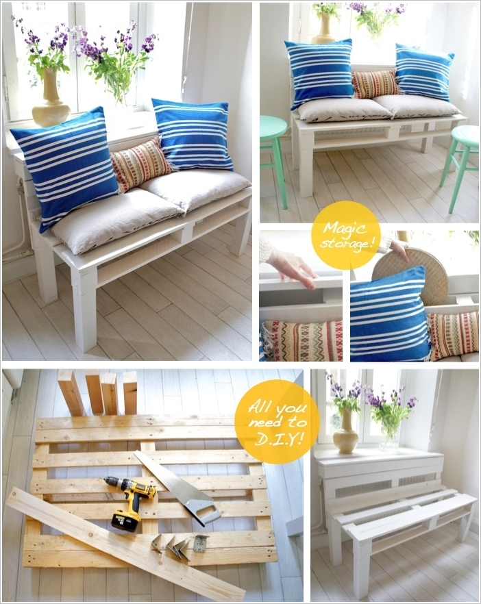 10 Phenomenal Pallet Projects for Your Living Room on Pallet Room Ideas  id=33409