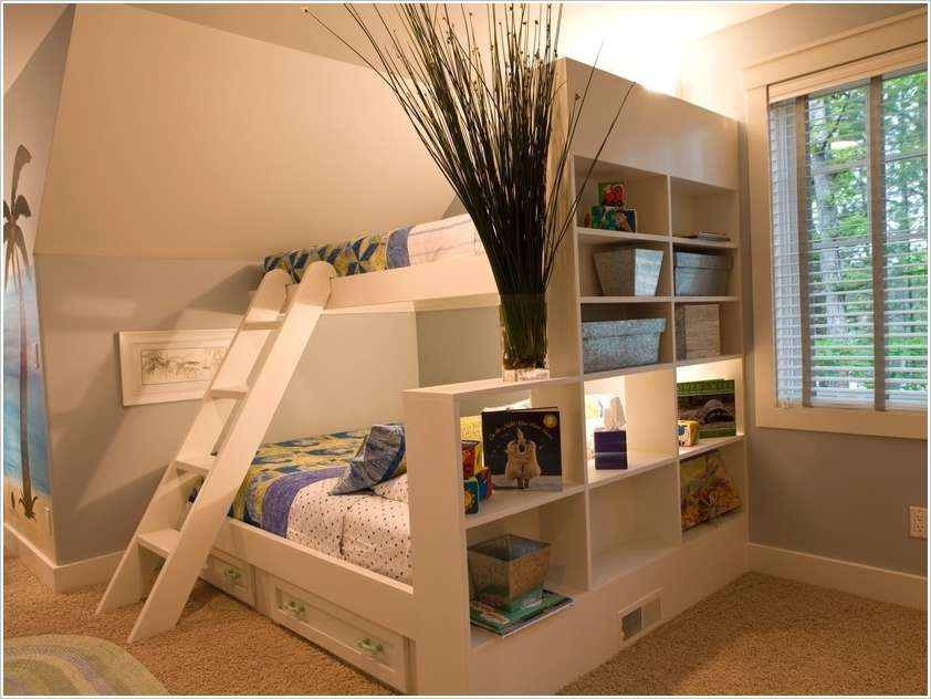 10 shared kids bedroom storage and organization ideas