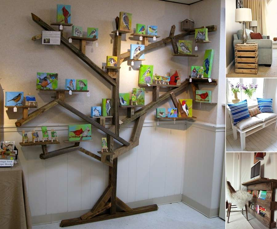 10 Phenomenal Pallet Projects for Your Living Room on Pallet Room Ideas  id=65280