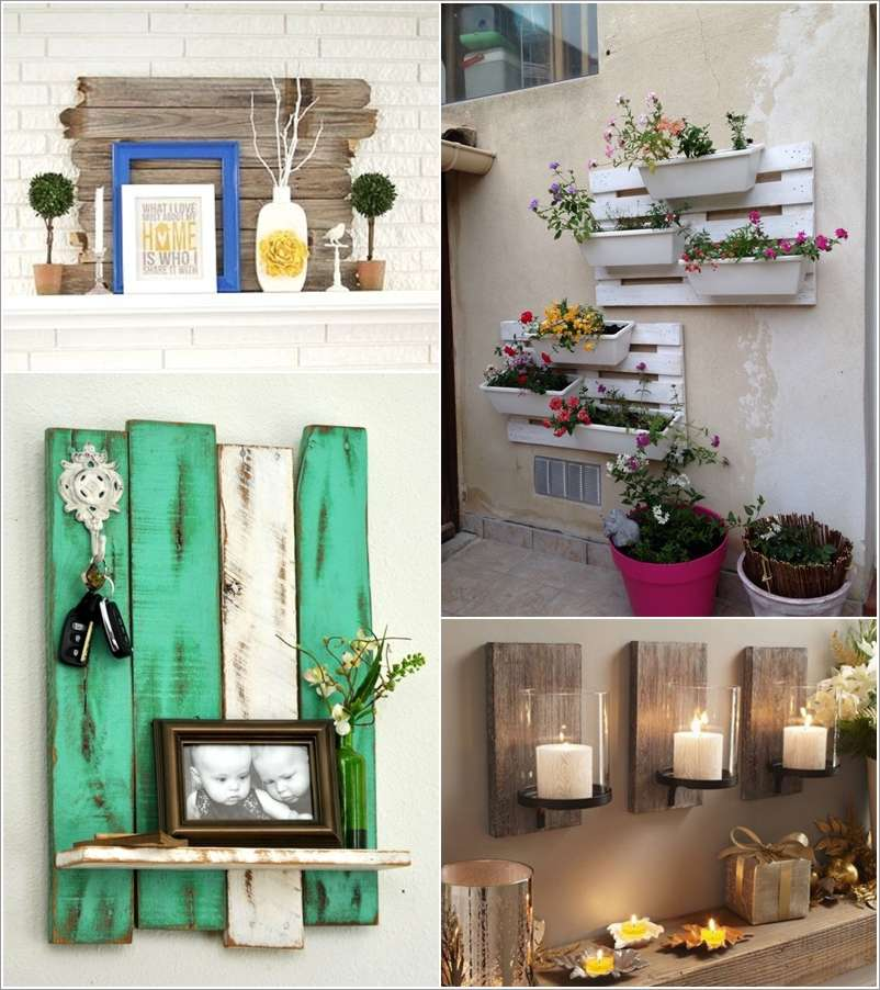 15 Creative Wall Decor Ideas with Recycled Pallets on Pallets Design Ideas  id=61172